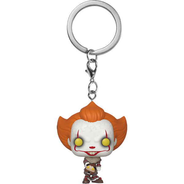 IT Chapter 2 Pennywise with Beaver Hat Pocket Pop! Keychain