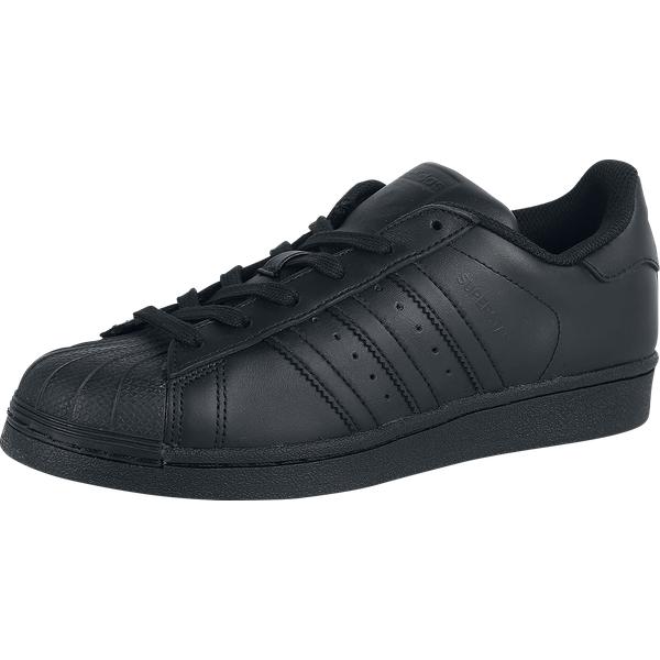 Adidas - Superstar Foundation - Sneakers - black-black
