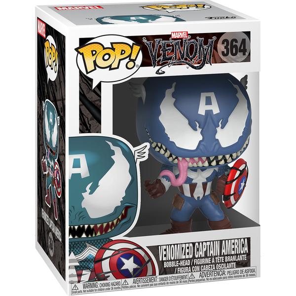 Marvel Venomized Captain America Pop! Vinyl Figure