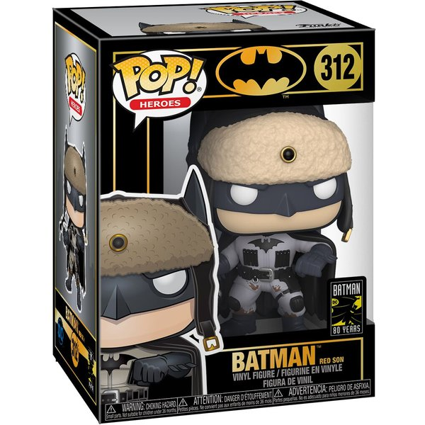 DC Comics Batman - Red Son Batman Pop! Vinyl Figur