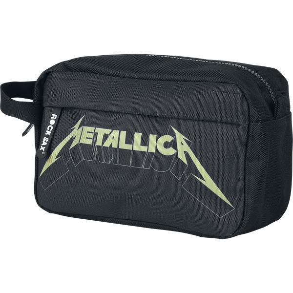 Metallica - Logo - Washbag - black (WBMETLOG01)