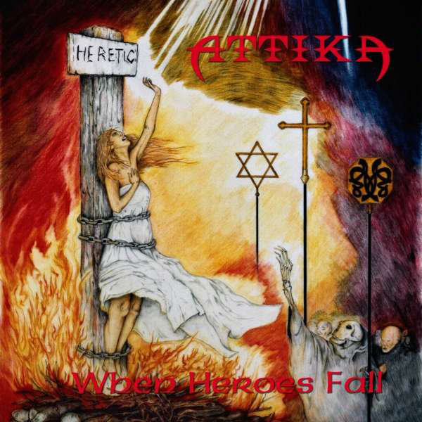 Attika - When heroes fall - CD - standard