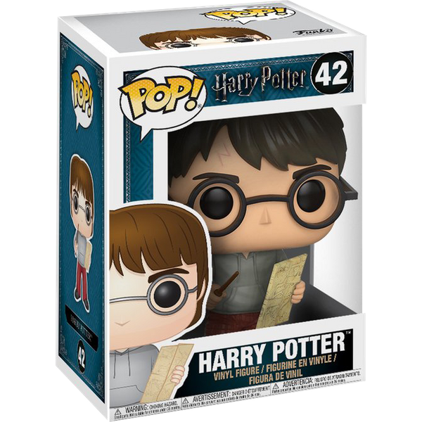 Harry Potter - Harry w/ Marauders Map POP! Vinyl