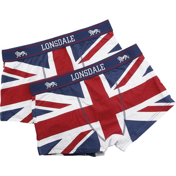 Lonsdale London Tisbury Unterwäsche rot/weiß/blau