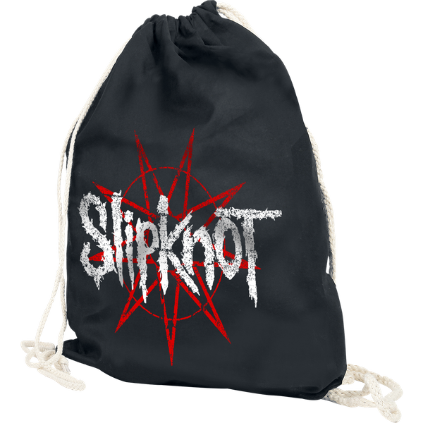 Slipknot - Star Logo - Gym Bag - black (122169000)