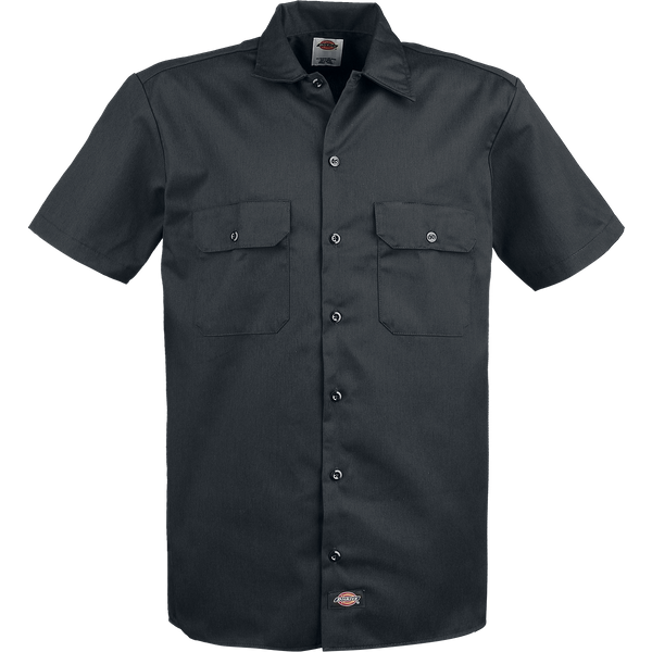 Dickies - Short Sleeve Work Shirt - Workershirt - black