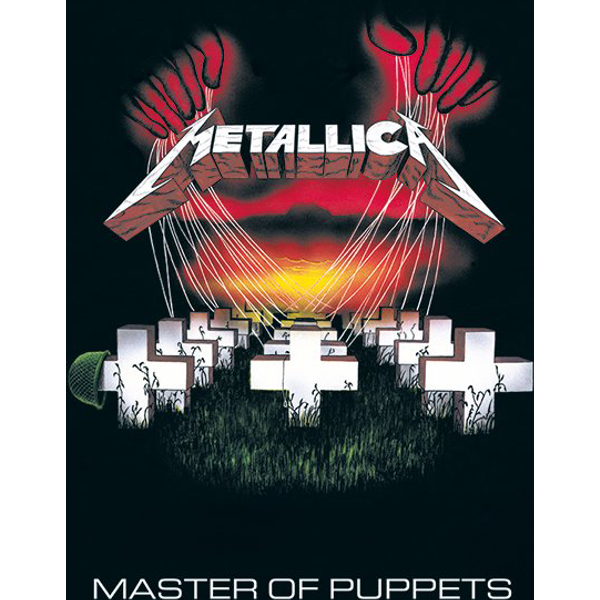 Metallica Master of puppets Poster Mehrfarbig