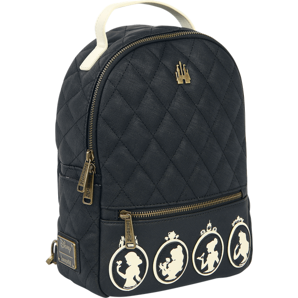 Disney Princess - Loungefly - Silhouetten - Backpack - black-white