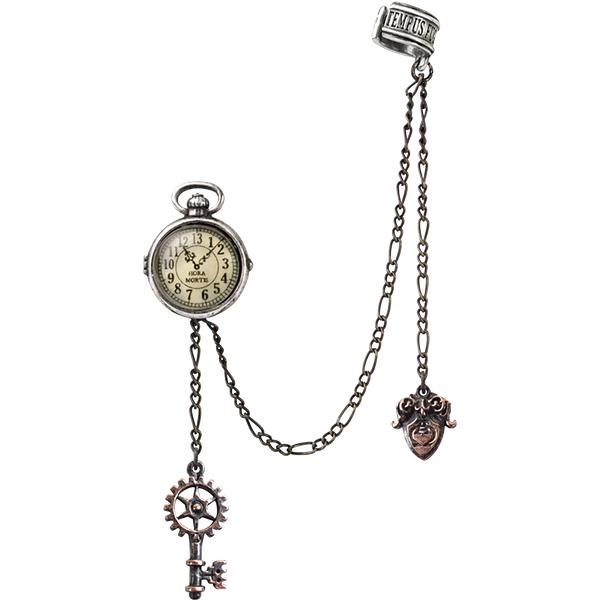 Alchemy Gothic - Uncle Albert's Timepiece - Earpin - standard