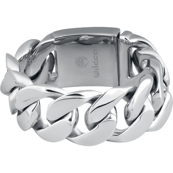 Wildcat - Braided Bracelet - Bracelet - silver-coloured