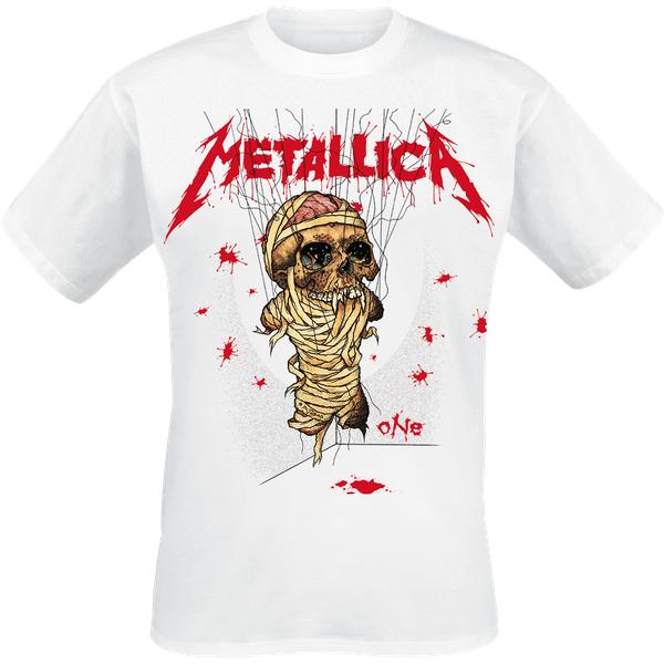 Metallica One Landmine T-Shirt weiß (RTMTLTSWONE-2XL)