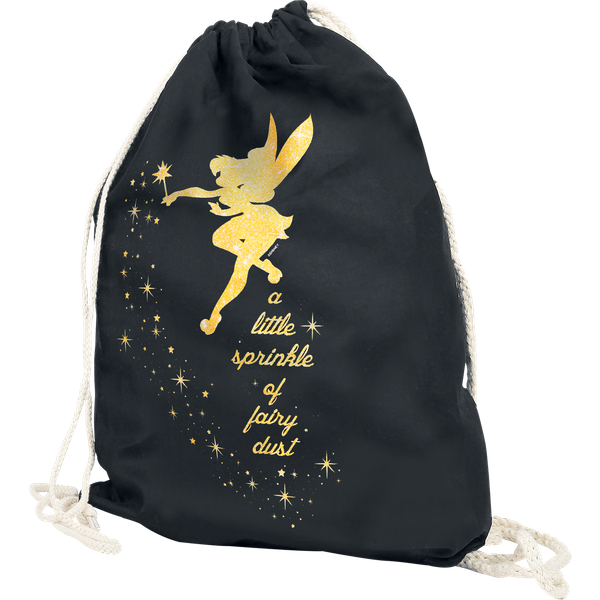 Peter Pan - Tinker Bell - Fairy Dust - Gym Bag - black