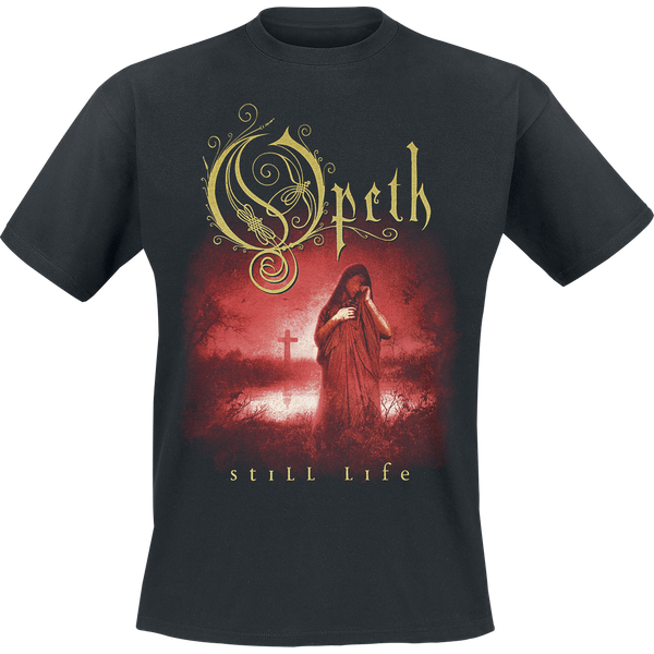 Opeth - Still Life - T-Shirt - black (OMHOPSLXXL)