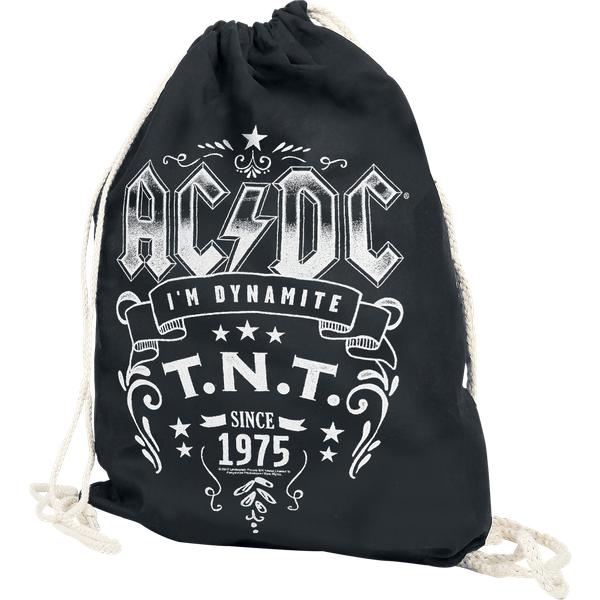 AC/DC - T.N.T. - Gym Bag - black (123107000)
