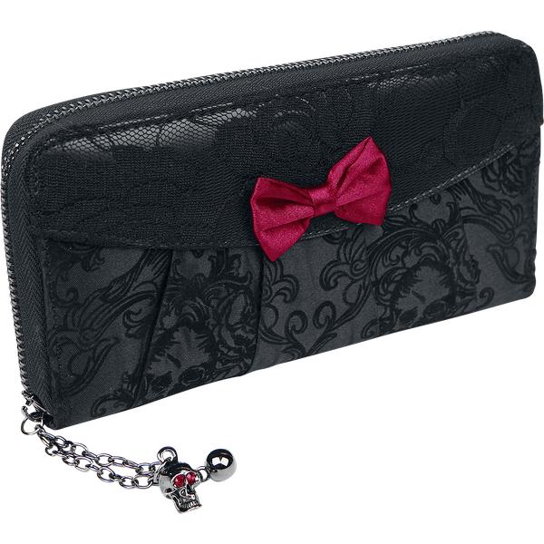 Banned - Goth - Wallet - black (WBN 1409)