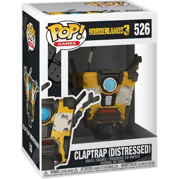 Figurine Pop! Claptrap - Borderlands 3