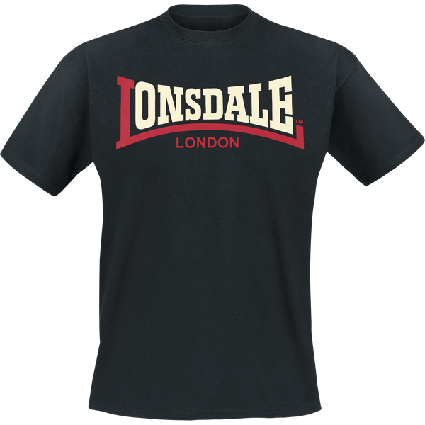 Lonsdale Herren T-Shirt, normale Passform TWO Tone