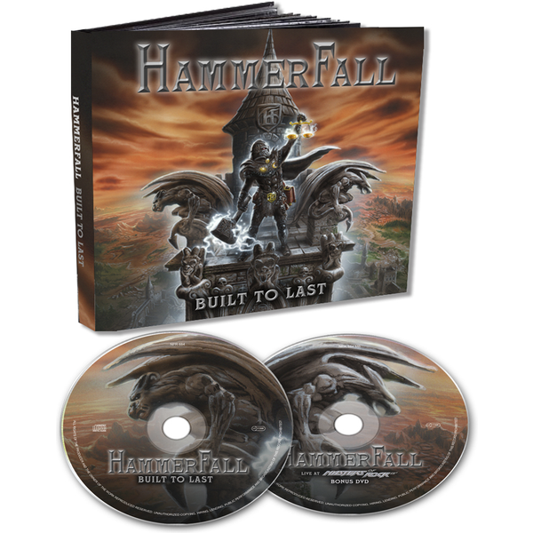Hammerfall - Built to last - CD & DVD - standard