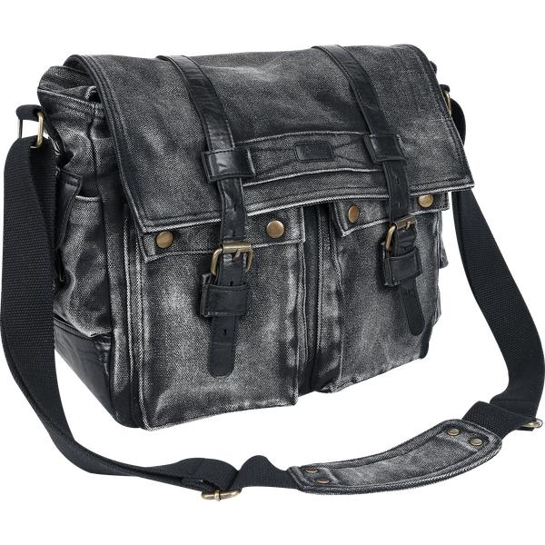 Brandit - Park Avenue - Shoulder bag - black-black