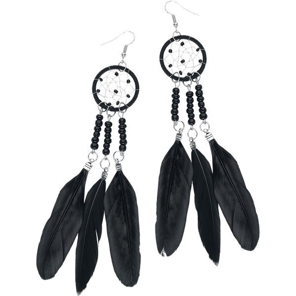 etNox - Dreamcatcher Choker - Earring set - black-silver
