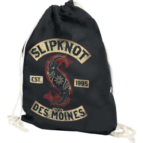 Slipknot - Patched Up - Gym Bag - black (121632000)