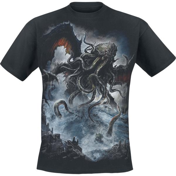 Cthulhu Men's Medium T-Shirt - Black