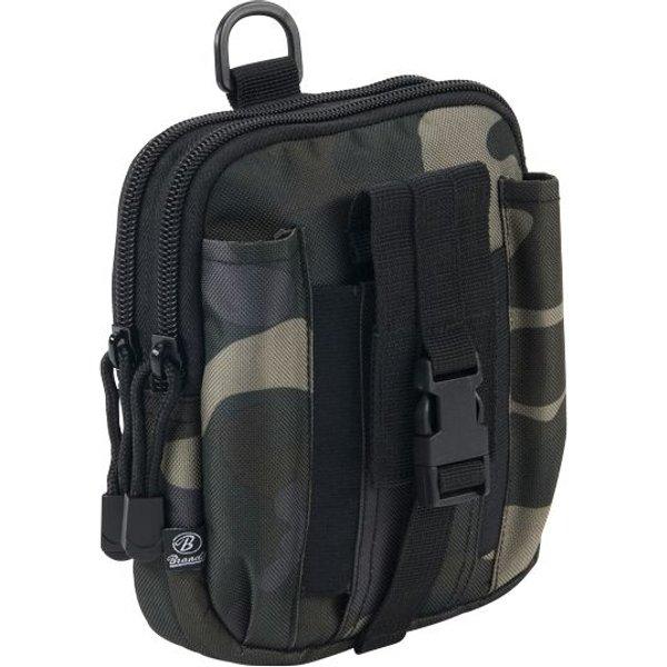 Brandit - Molle Pouch Functional - Rucksack Attachment - Belt pouch - dark camo
