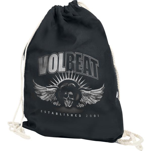 Volbeat - Dark Skullwing - Gym Bag - black (122901000)