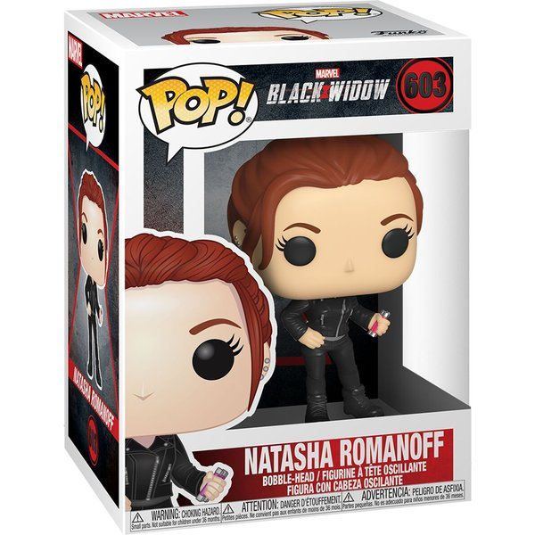 Figurine Funko Pop Marvel Black Widow Natasha Romanoff