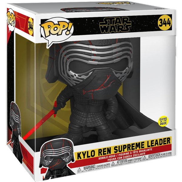 Star Wars Episode 9 - Der Aufstieg Skywalkers - Kylo Ren (GITD) (Life Size) Vinyl Figur 344 Funko Pop! multicolor