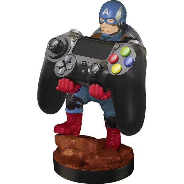 EXQUISITE GAMING Captain America - Contrôleur ou support de téléphone (Multicolore)