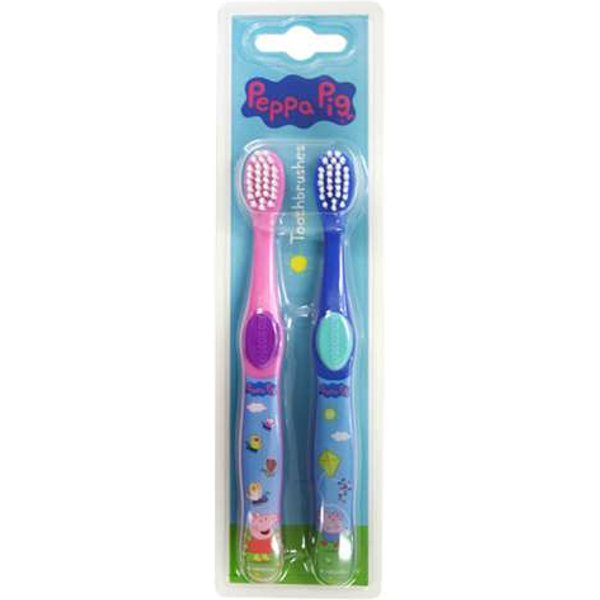 Peppa Pig Twin Pack Toothbrushes
