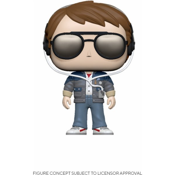 Back to the Future Marty with Glasses Funko Pop! Vinyl