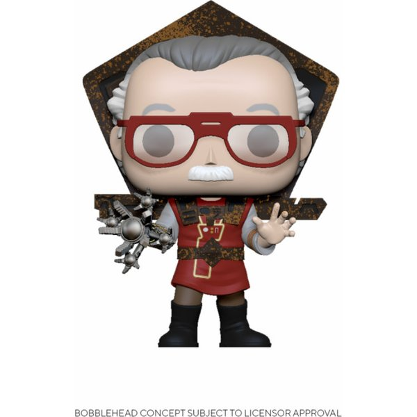 Figurine Funko Pop Marvel Stan Lee in Ragnarok Outfit