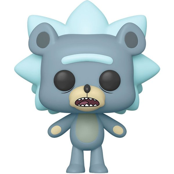 Rick & Morty Teddy Rick (Chase Possible) - Funko Pop! n°662 Figurine de collection Standard