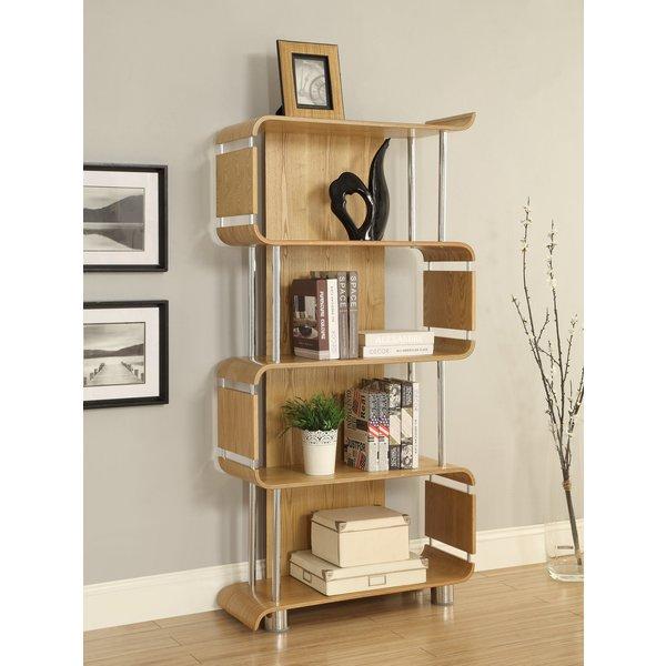 Curve Oak Bookcases