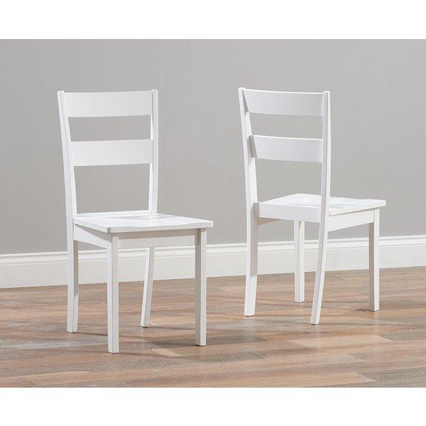 Chiltern White Dining Chairs (Pairs)