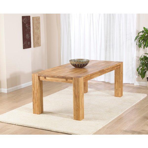 Madrid 200cm Oak Dining Table