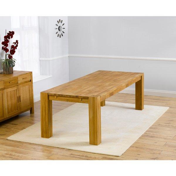 Madrid 240cm Oak Dining Table