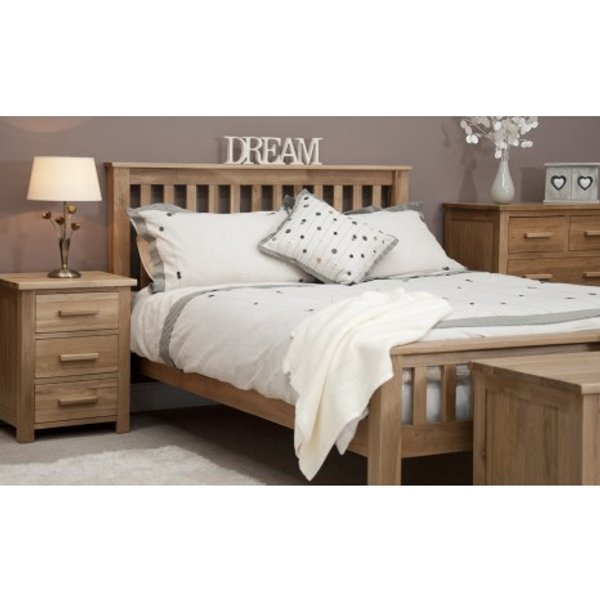 Opus Oak Double Bed