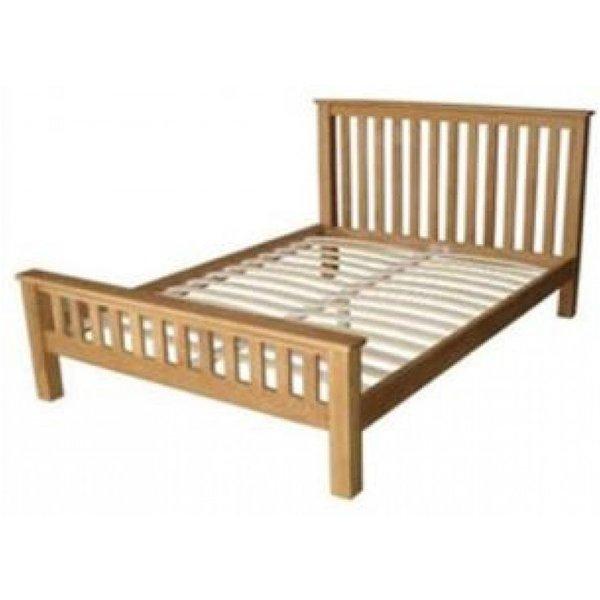 Opus Oak King Size Bed