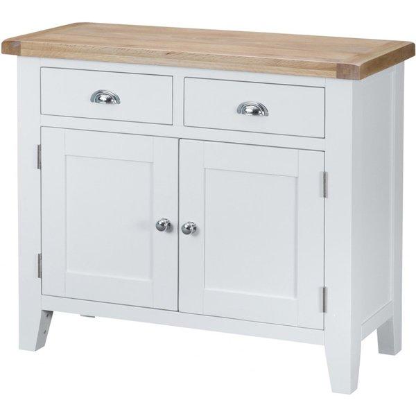 Ellen 2 Door 2 Drawer Oak and White Sideboard