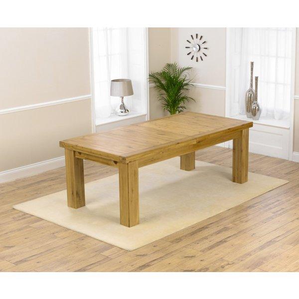 Loire 230cm Oak Extending Dining Table