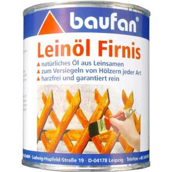 Baufan Leinöl Firnis 750ml