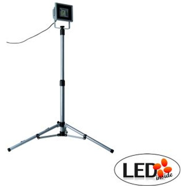 LED-Baustrahler mit Stativ