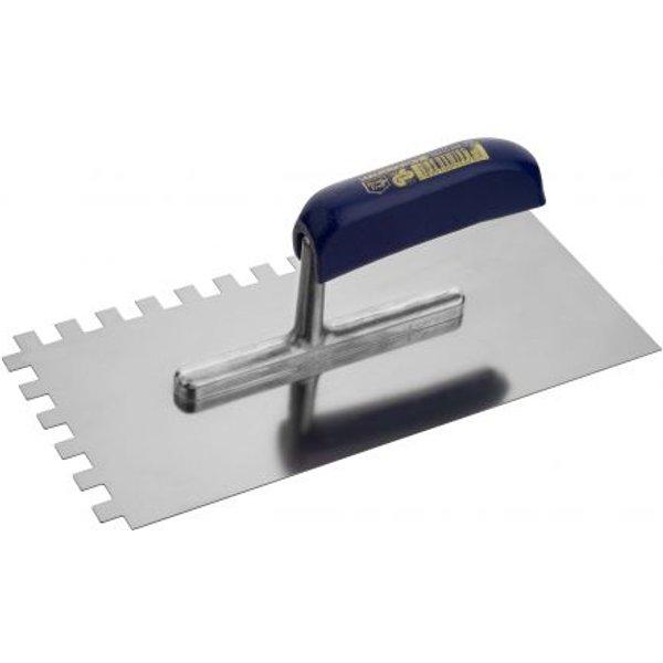 Zahnglättekelle Ausführung:Stahl rostfrei  Zahnung:10 x 10mm