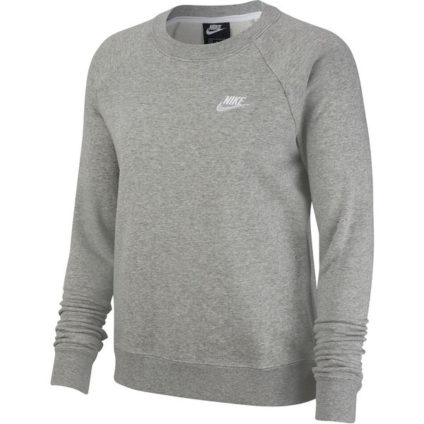 Nike grey essentials crew neck sweatshirt