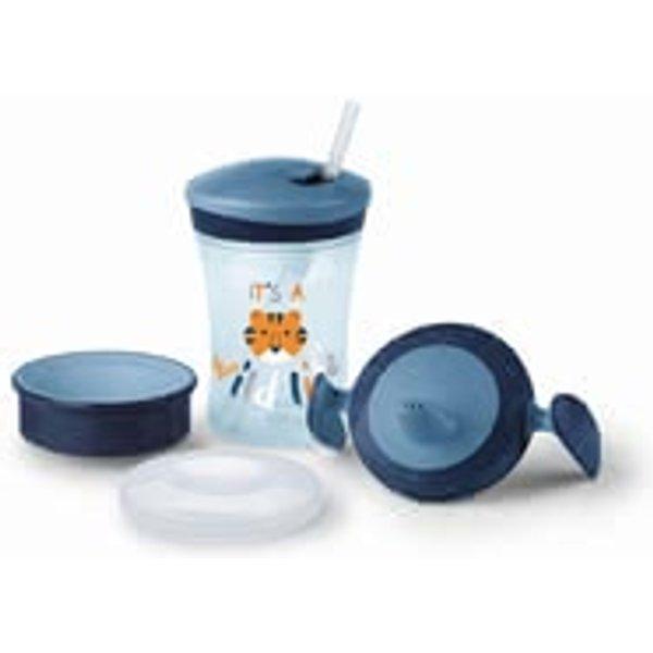 NUK Evolution Cup Set Boy - Trinklernset All-in-1