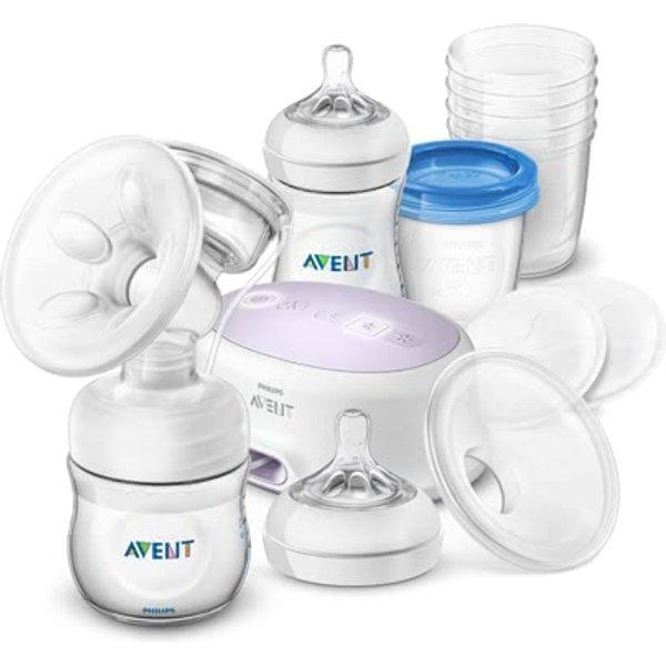 Avent Still-Set mit elektrischer Milchpumpe 0+ Monate