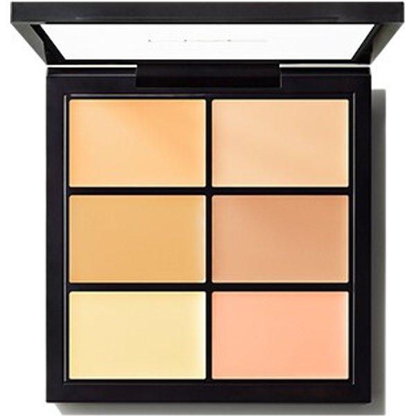 MAC Studio Fix Conceal + Correct Palette (Extra Deep | 6 g) Make Up, Augen, Lidschatten, Concealer